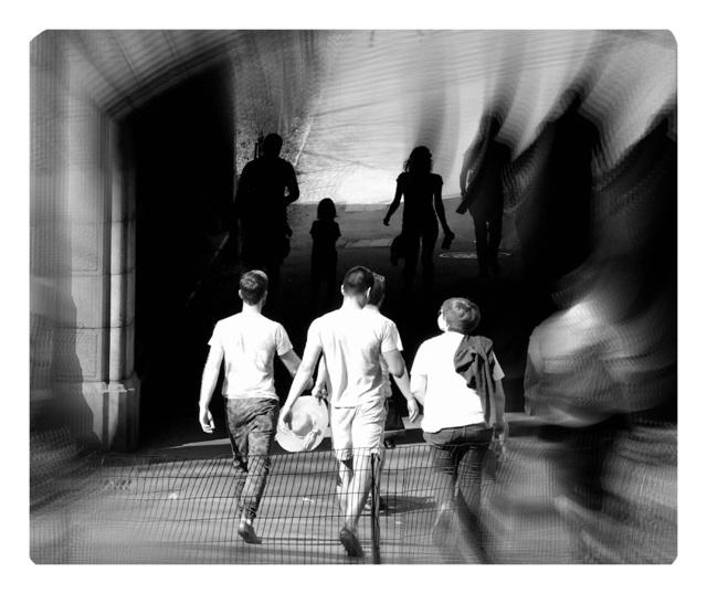 Jane Sklar, 'Tunnel Stroll', 2020, Photography, Digital Photography, The Galleries at Salmagundi