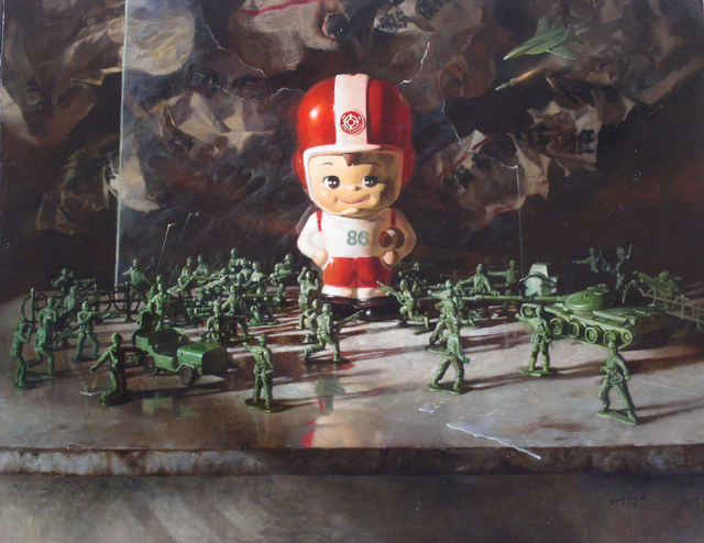, 'The World We Live ,' 2006, Parkview Green Art