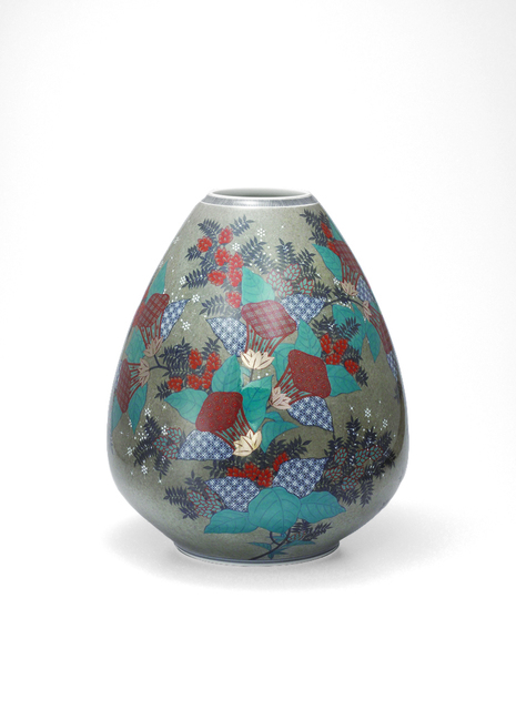 , 'Vase with Zuika (Mullein) Flower Patterns,' 2013, Onishi Gallery