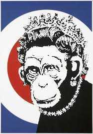 Banksy, 'Monkey Queen', 2003, Tate Ward Auctions