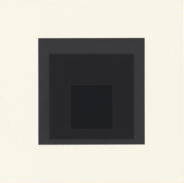 , 'Gray Instrumentation I b,' 1974, Ludorff