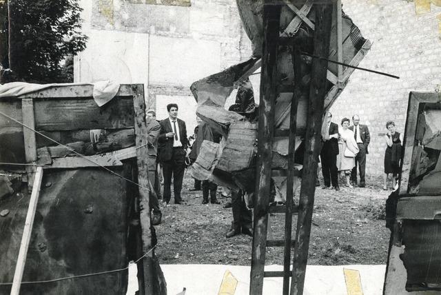 , 'La destrucción,' 1963, Cantor Fitzgerald Gallery, Haverford College