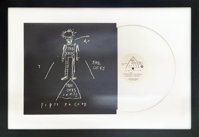 , 'The Offs - First Record (white),' , Bruce Lurie Gallery
