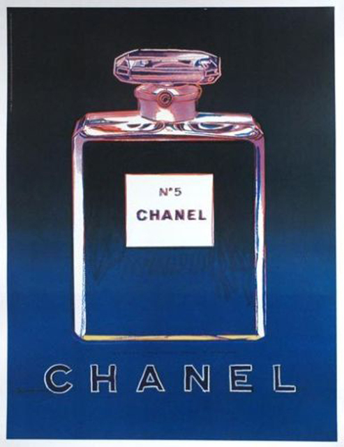 Andy Warhol, 'Chanel No. 5, 1997', 1997, Ephemera or Merchandise, Offset lithograph mounted on linen backing, EHC Fine Art Gallery Auction