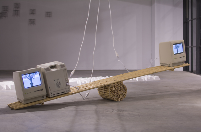 ", '""Macintosh Computers and Bamboo Scale"",' 2016, Gallery Madison Park"