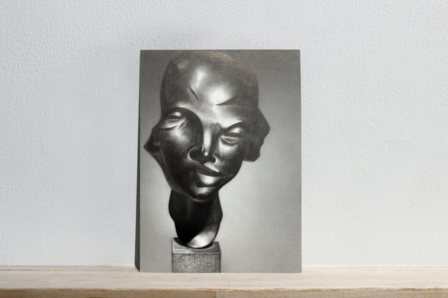 ", 'Postcards to AZ: Edwin Sharff's ""Portrait of Anni Mewes, 1921"",' 2017, Josée Bienvenu"