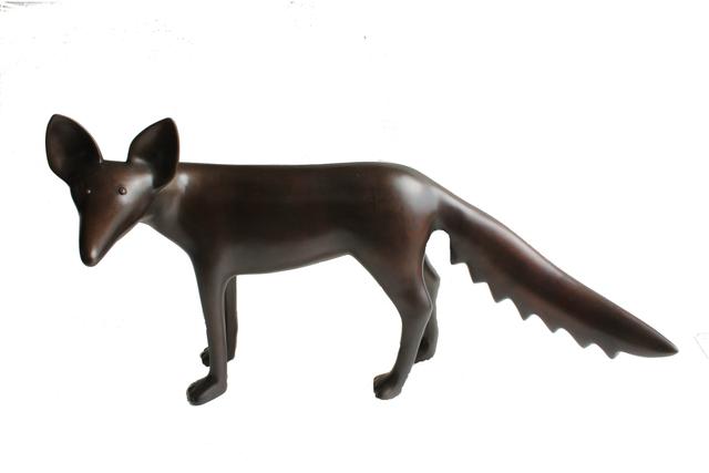 , 'Fox Looking,' 2017, Rebecca Hossack Art Gallery