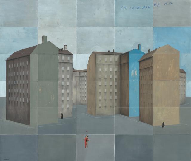 Paolo Ventura, 'La Casa Blu #2', 2017, Bugno Art Gallery