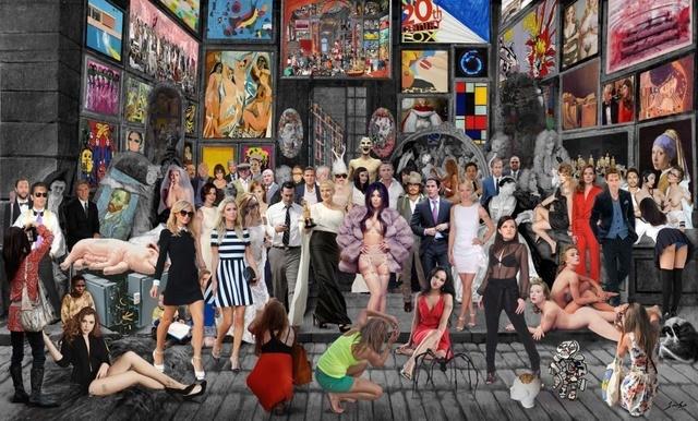, 'La Muestra de Gersaint Watteau,' 2016, Cynthia Corbett Gallery