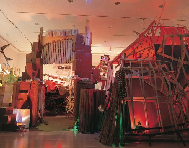 Jesse Bercowetz & Matt Bua, 'The Re-Creation of Fort Discomfort', 2003, Installation, Rice University Art Gallery