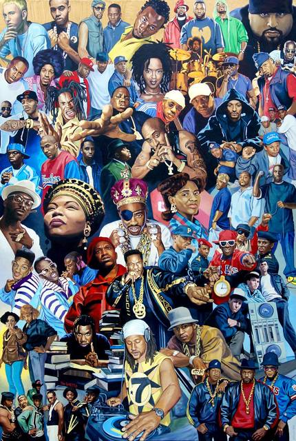 , 'Legends of H.I.P H.O.P (Part One),' 2016, ArtAboveReality