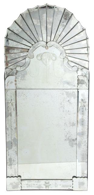 'Art Deco Mirror Framed Pier Mirror', Doyle