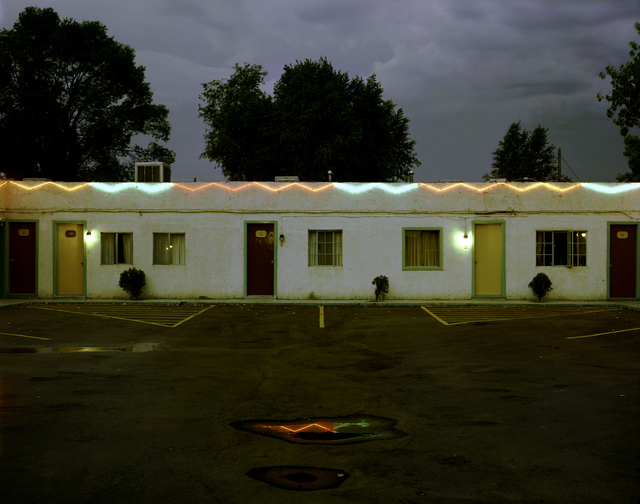 , 'Sandia Motel, Highway 66, Albuquerque, New Mexico; August, 1980,' , photo-eye Gallery