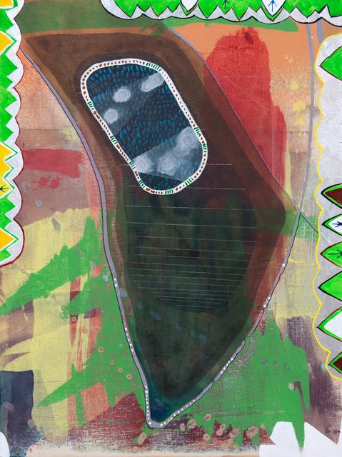 """Lorenzo Hurtado Segovia, '""""Plegaria por el dia de hoy""""', 2015, Painting, Acrylic on prepared wood panel, Los Angeles Contemporary Exhibitions (LACE) Benefit Auction"""