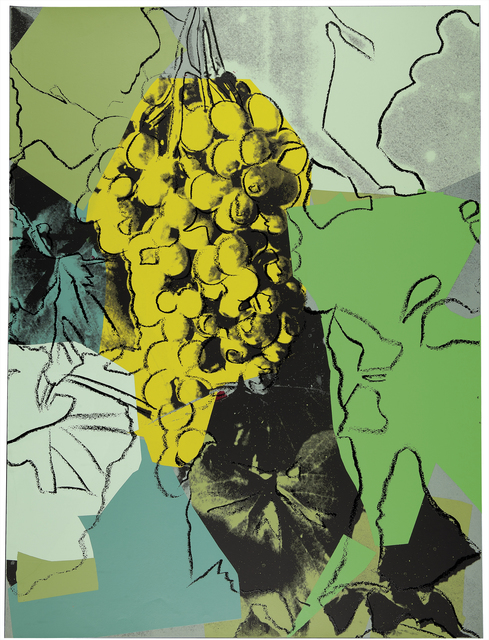 Andy Warhol, 'Grapes (F. & S. II.191)', 1979, Print, Screenprint in colors on paper, a trial proof, Christie's Warhol Sale