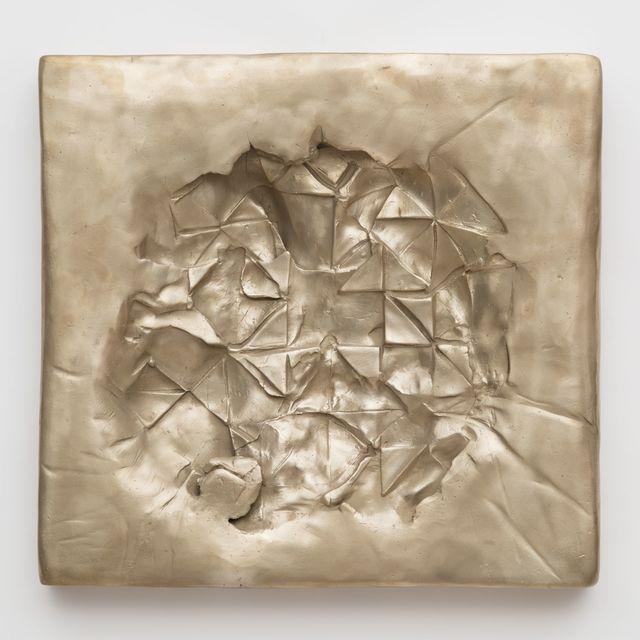 , 'Concave (Gold), ed. of 8,' 2018, Tayloe Piggott Gallery