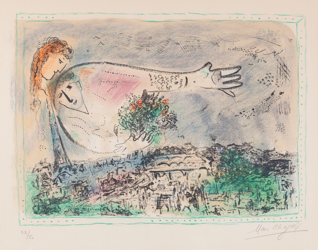 , 'Lovers Over Paris,' 1970, ACA Galleries