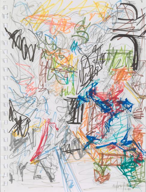 , 'Study V for Revelations,' 2015, Bowdoin College Museum of Art