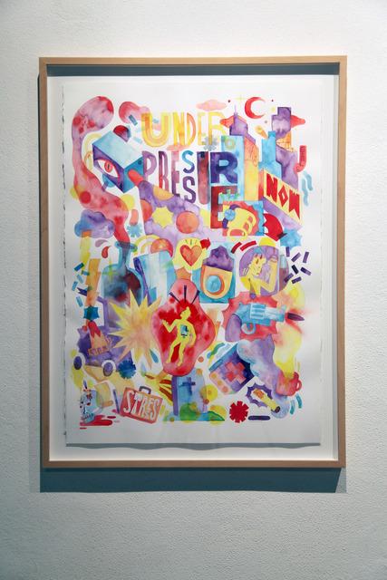 , 'Under Pressure,' 2014, Underdogs Gallery