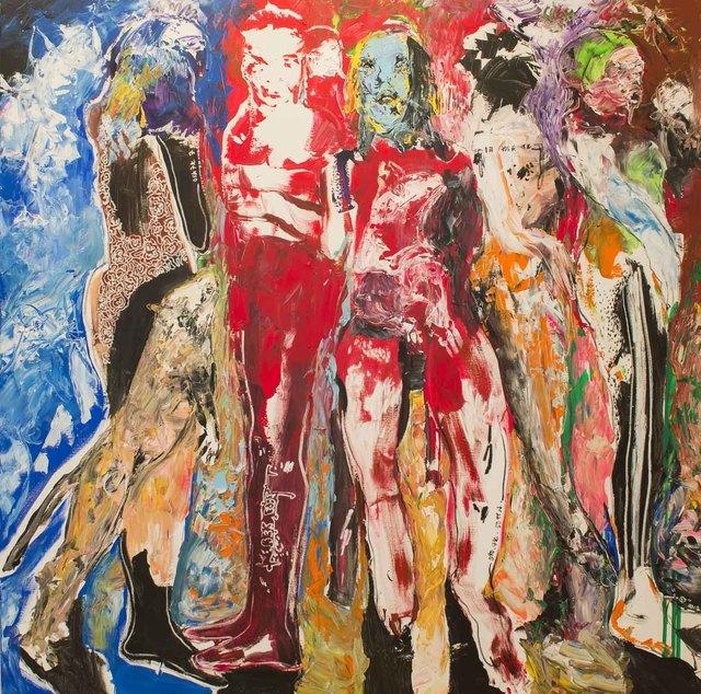 , 'Des Hommes et Des Vies V ,' 2017, Sulger-Buel Lovell