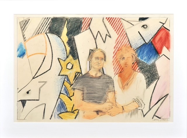 Larry Rivers, 'Roy and Dorothy Lichtenstein', 1981, Galerie Ernst Hilger