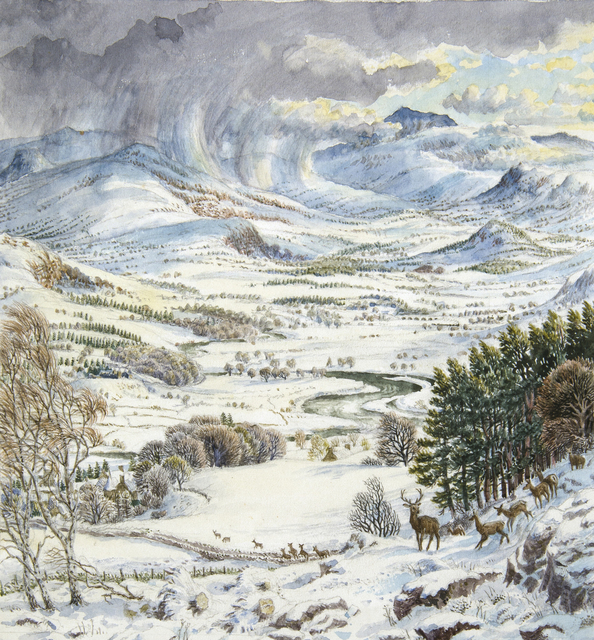 , 'The Spey Valley From Kingussie, Inverness-Shire,' 1926-1973, Chris Beetles Gallery