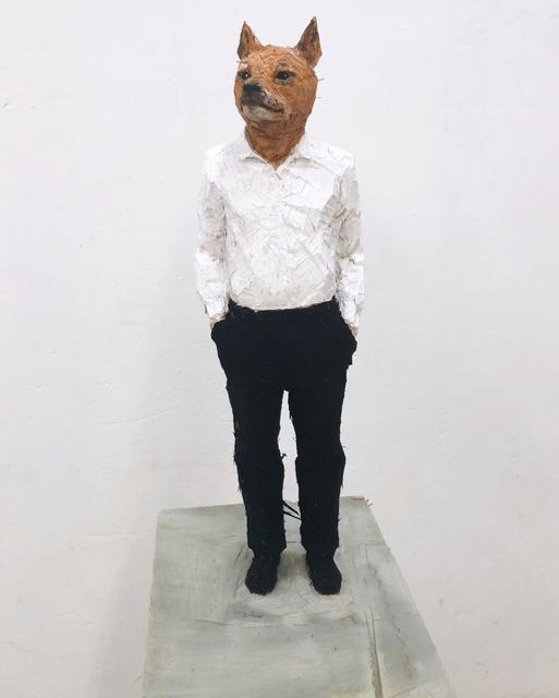 , 'Man with dog head,' 2018, Mai 36 Galerie