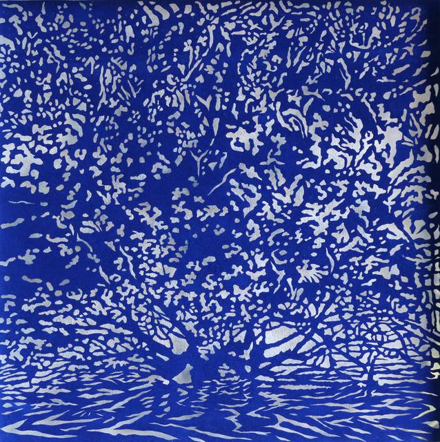 Andrew Tomkins, 'Blue Cut V', 2018, Art Atrium