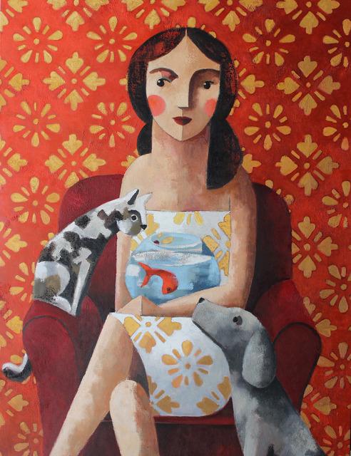 , 'The fish,' , GALERIA JORDI BARNADAS
