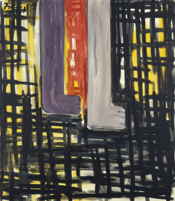 Günther Förg, 'Untitled', 2005, Painting, Acrylic on canvas, Galerie Lelong & Co.