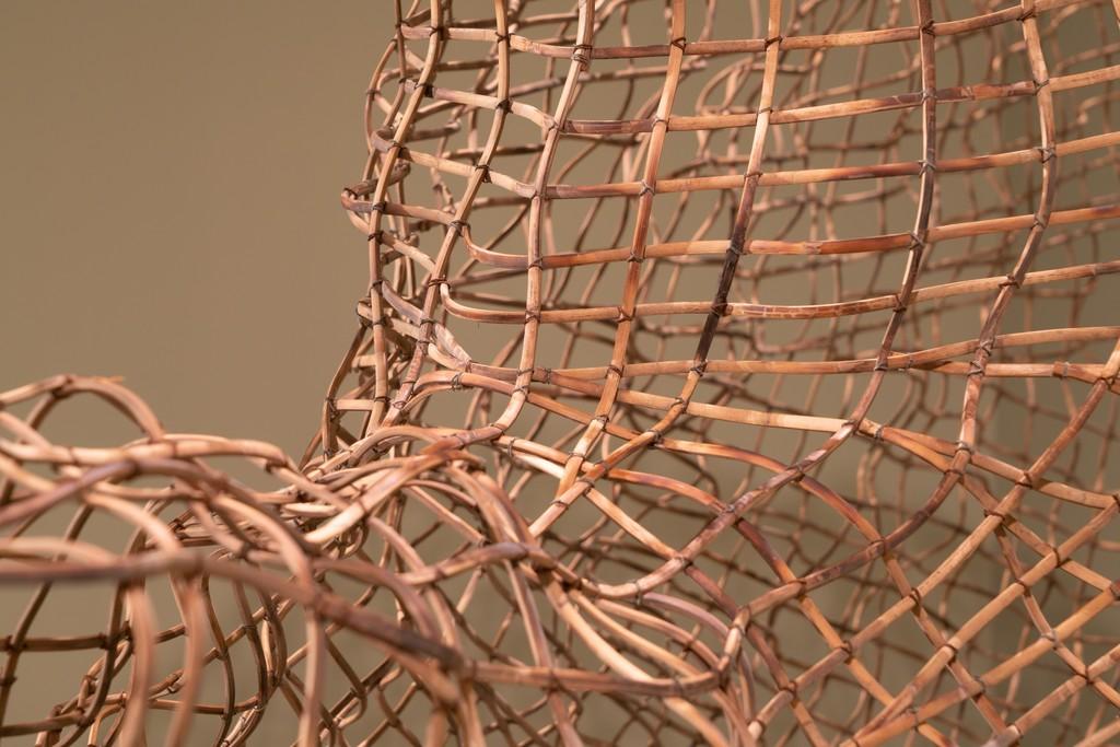 SopheapPich,Delta(detail), 2007, rattan and wire. NTU Centre for Contemporary Art Singapore. Courtesy NTU CCA Singapore.