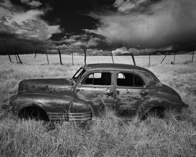 Cody S. Brothers, 'Truchas Car #1', Modernist Frontier