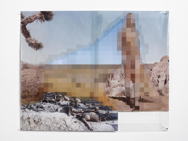 , 'Pixel-collage n.73,' 2016, Alfonso Artiaco