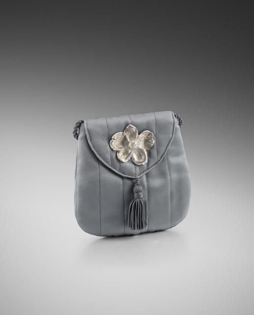 , 'Grey Silk Evening Bag,' , Louisa Guinness Gallery