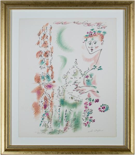 , 'Venise En Fleurs from Je Reve (I Dream) Portfolio,' 1891, David Barnett Gallery