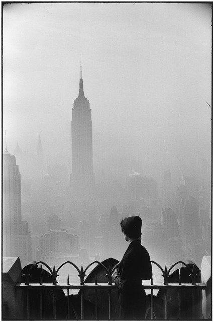 , 'New York City,' 1955, Huxley-Parlour