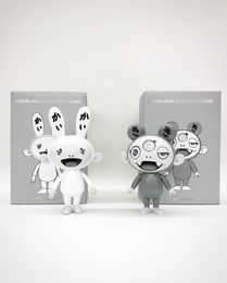 Kaikai & Kiki, black and white version (set of 2)