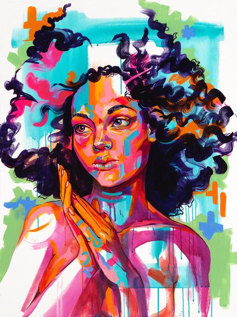 , 'Rose,' 2018, Art Attack SF