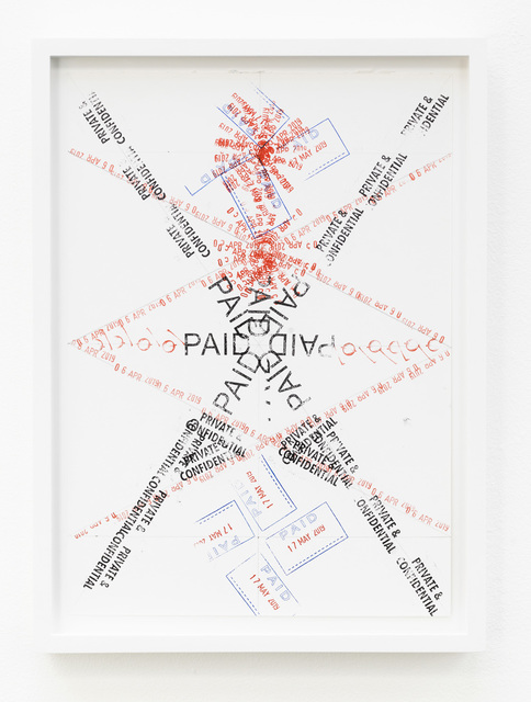 , 'Joy in Paperwork 42,' 2015, KÖNIG GALERIE