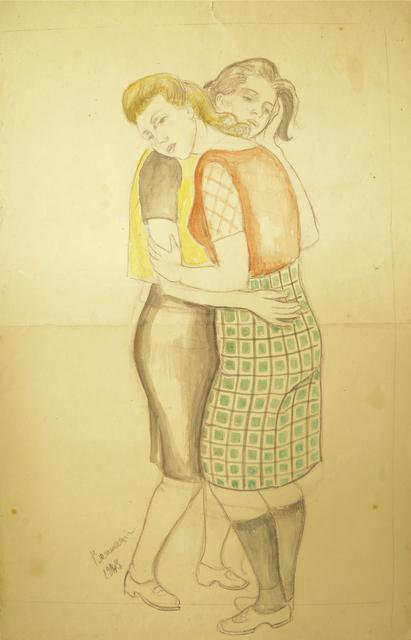 Marie Vorobieff Marevna, 'Two women embracing', 1943, Roseberys