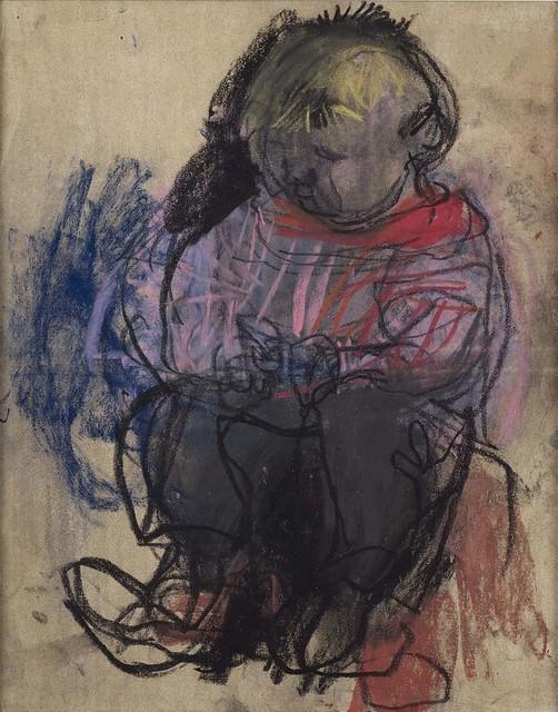 , 'Sitting Child,' 1960, The Scottish Gallery