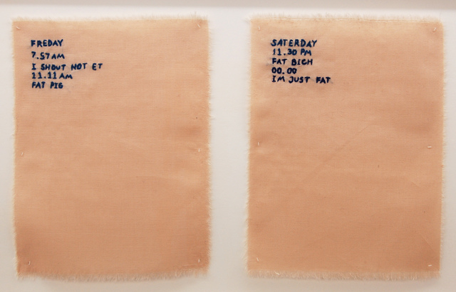 , 'Pink Slip #3 (Logbook Of Nigatif Thorts),' 2017, Galleri Tom Christoffersen
