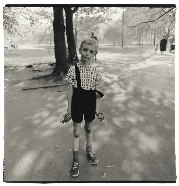 , 'Exasperated Boy with a Toy Hand Grenade in Central Park, NYC,' 1962, Edwynn Houk Gallery