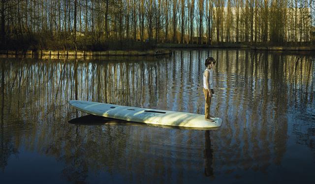 Ellen Kooi, 'Nieuwe Meer - Surfplank (Surfboard)', 2017, Torch
