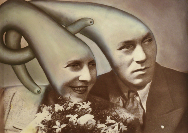 Jana Paleckova, 'Untitled (Couple with Tentacle Heads)', 2015, FRED.GIAMPIETRO Gallery