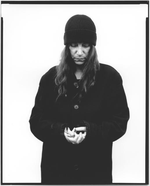 , 'Patti Smith, musician, poet,' 2010, Galerie Julian Sander