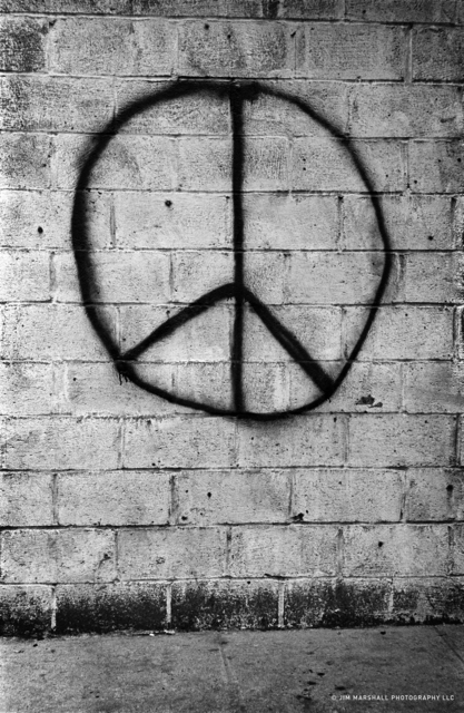 , 'Peace Brick Wall,' 1962, Subliminal Projects