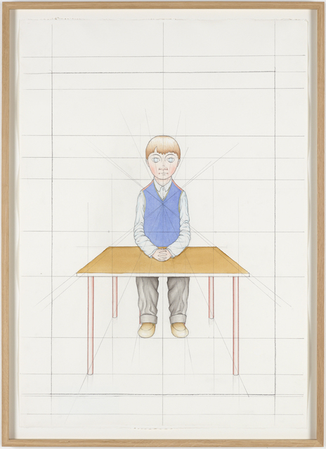 , 'An Attempt at Reconstructing my Elementary School Class, Based on my Memory (23),' 2012, Galleri Nicolai Wallner