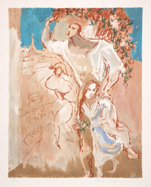 Pablo Picasso, 'Etude de Personnages ', 1973, Print, Lithograph on Arches Paper, RoGallery