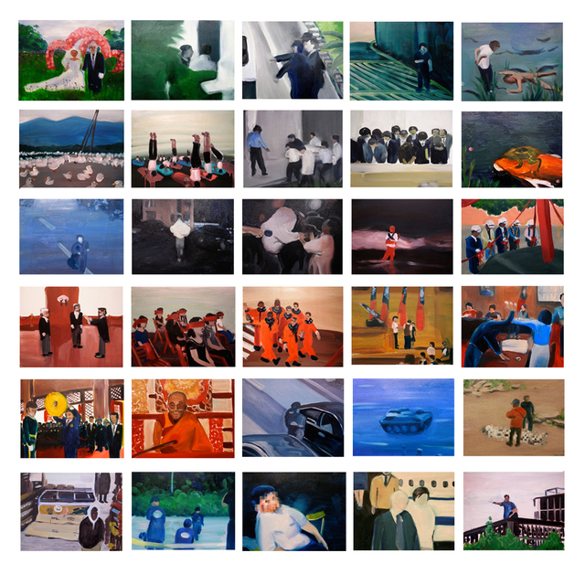 HUANG HAI-HSIN, 'Small Events', 2009, Painting, Oil on Canvas, Double Square Gallery